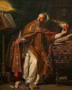 St. Augustine wished very hard for the invention of the pocket calculator.
