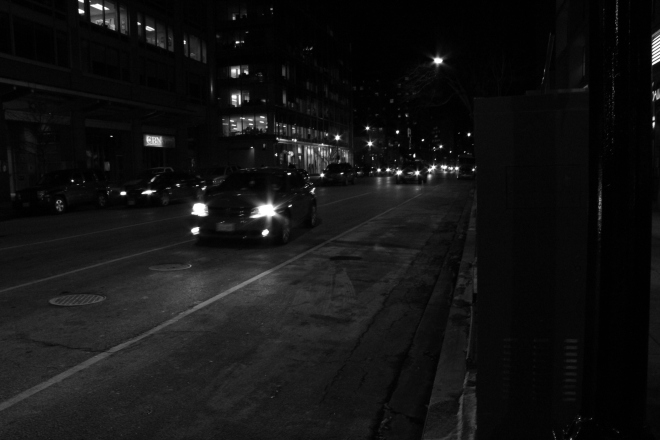 M Street, Washington DC, night (2013)