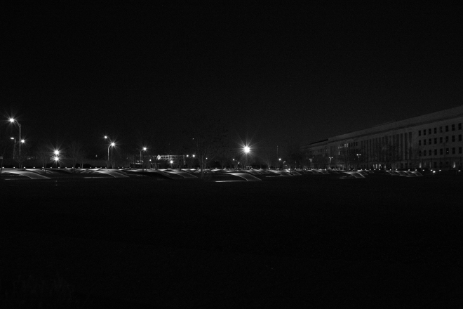 pentagon memorial b&w for wordpress