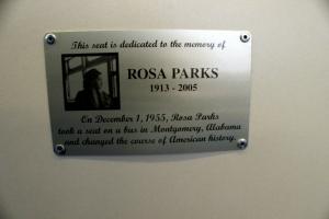 rosa parks seat