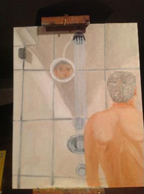 George W. Bush art.