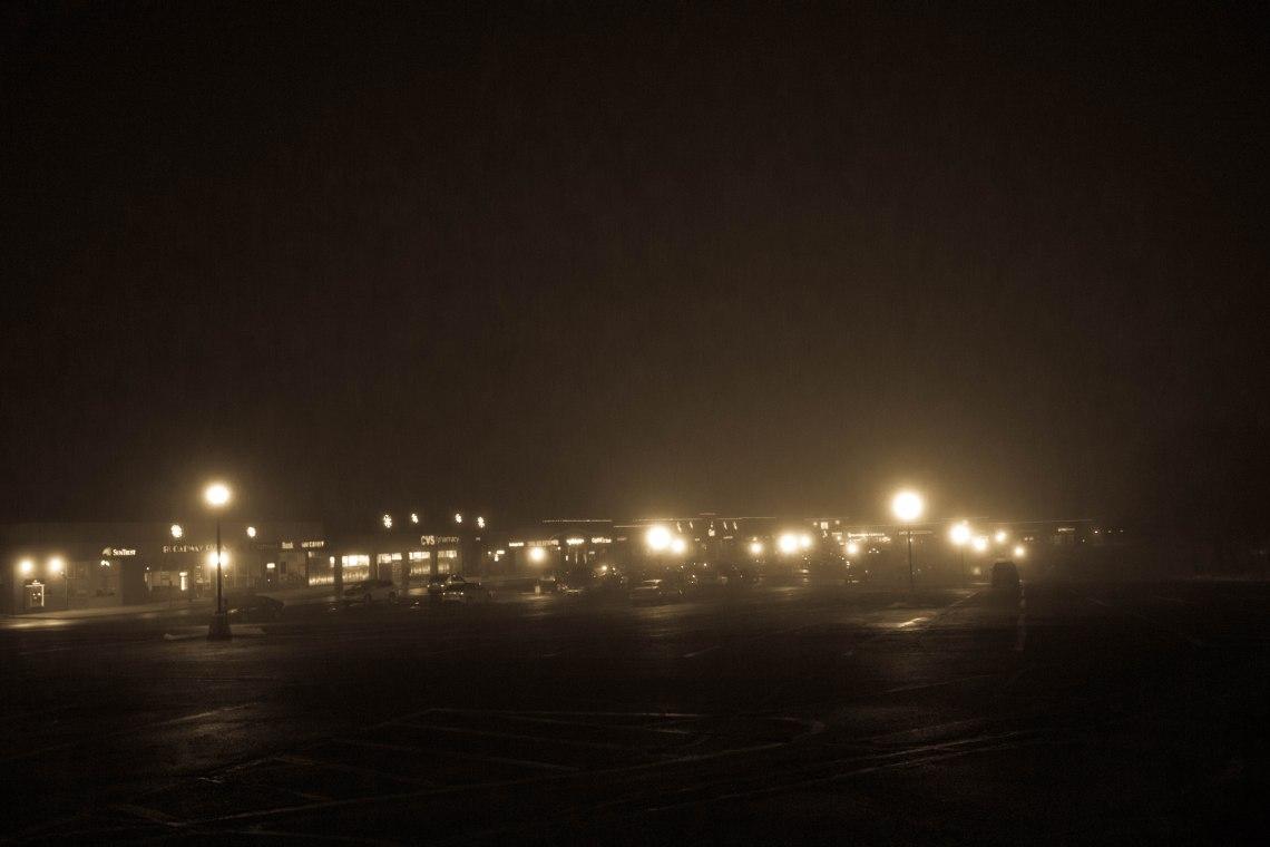 Misty Night.