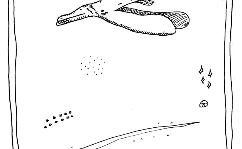 The Mislaid Deck: Card 43 – The SpaceDinosaurs