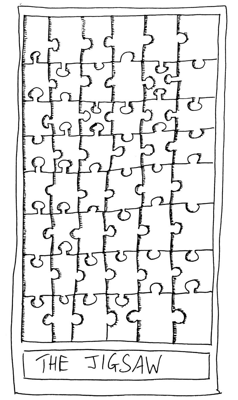 The Mislaid Deck: Card 75 – TheJigsaw.