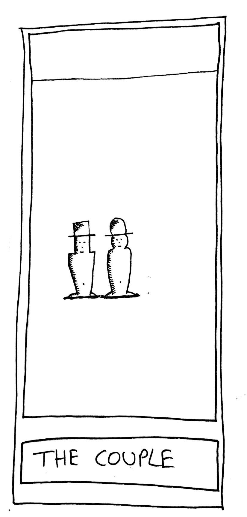 The Mislaid Deck: Card  40 – TheCouple.