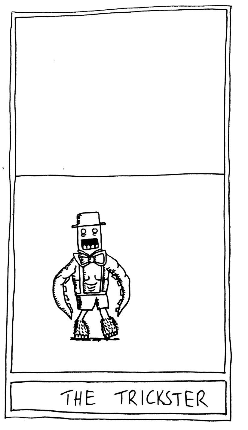The Mislaid Deck: Card 61  – TheTrickster.