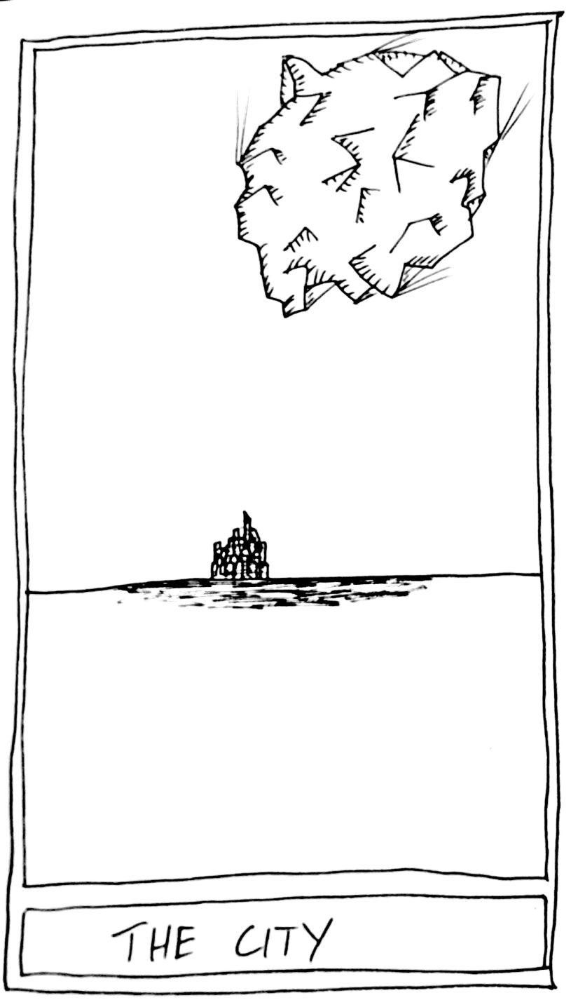 The Mislaid Deck: Card 48 – TheCity.