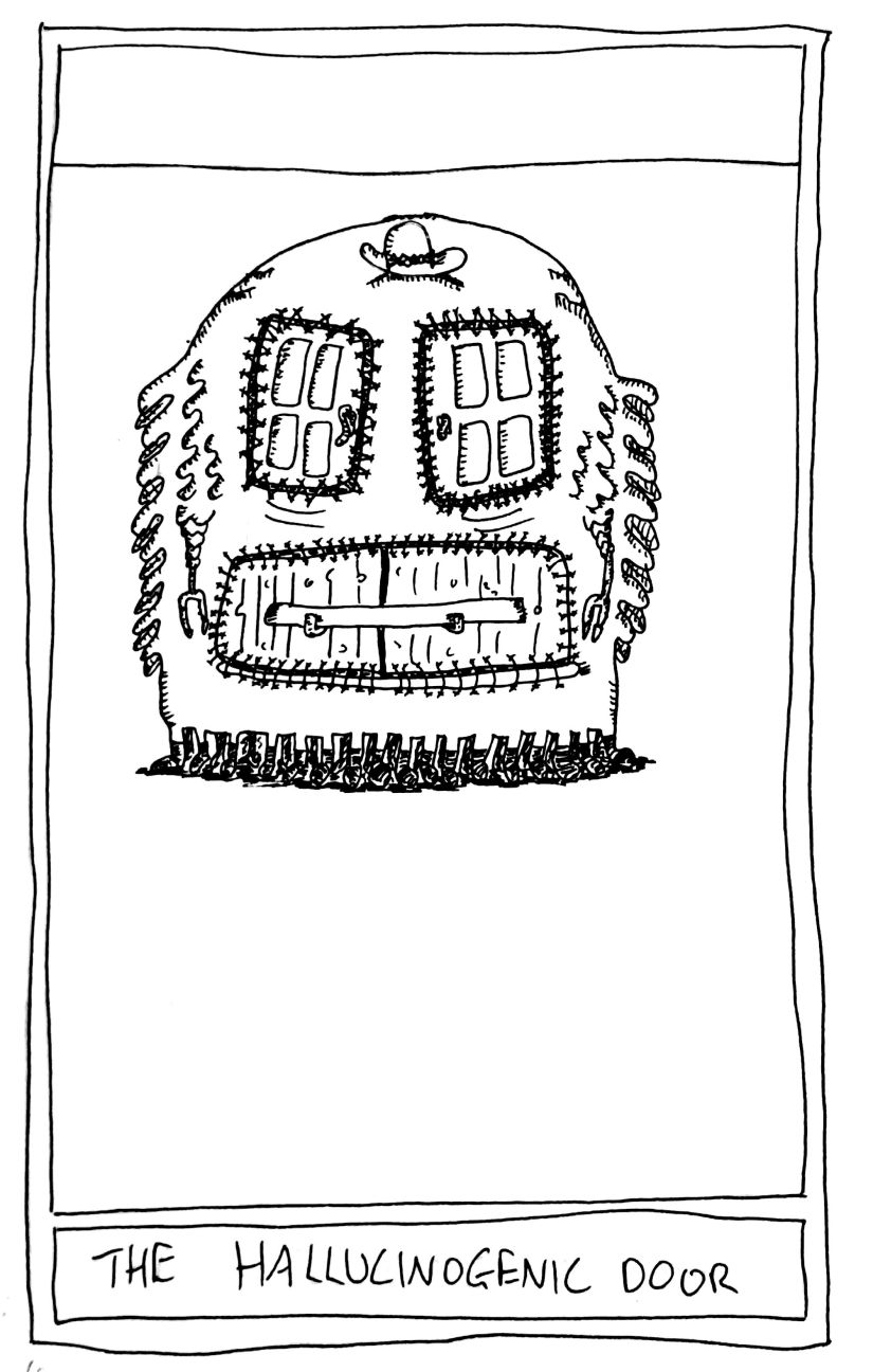The Mislaid Deck: Card 70 – The HallucinogenicDoor.