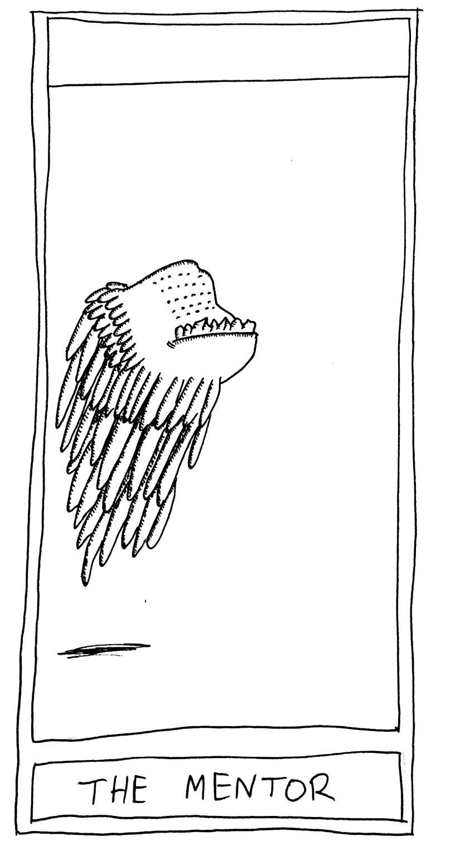 The Mislaid Deck: Card 73 – TheMentor.