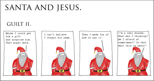 santa and jesus - guilt ii